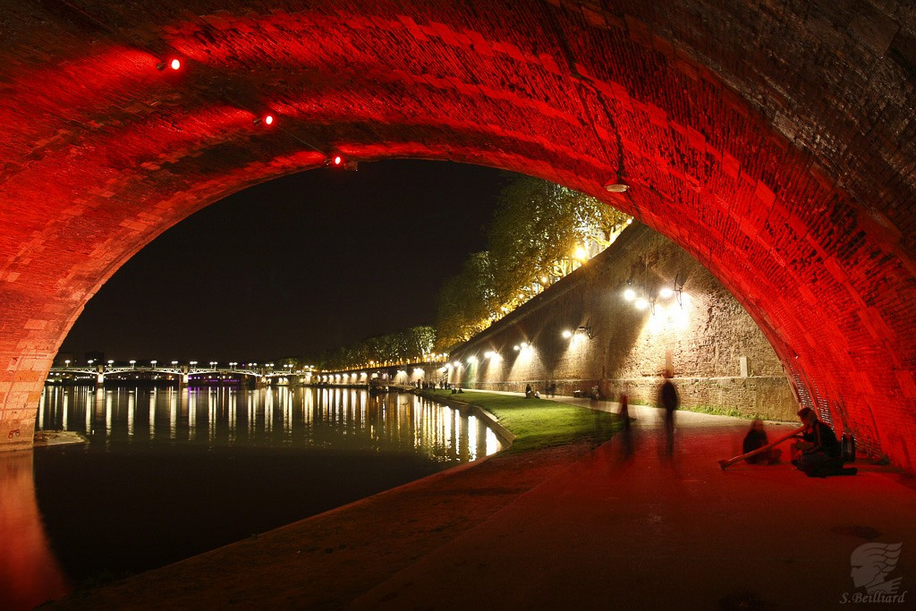 Under the Pont-Neuf