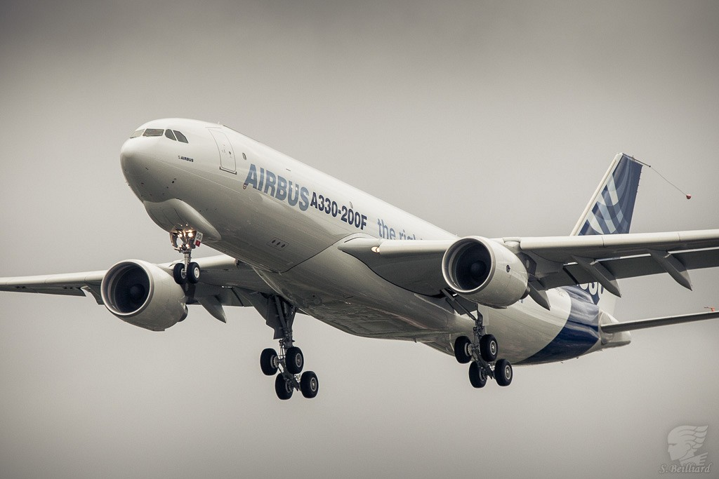Airbus A330 Freighter- First Flight