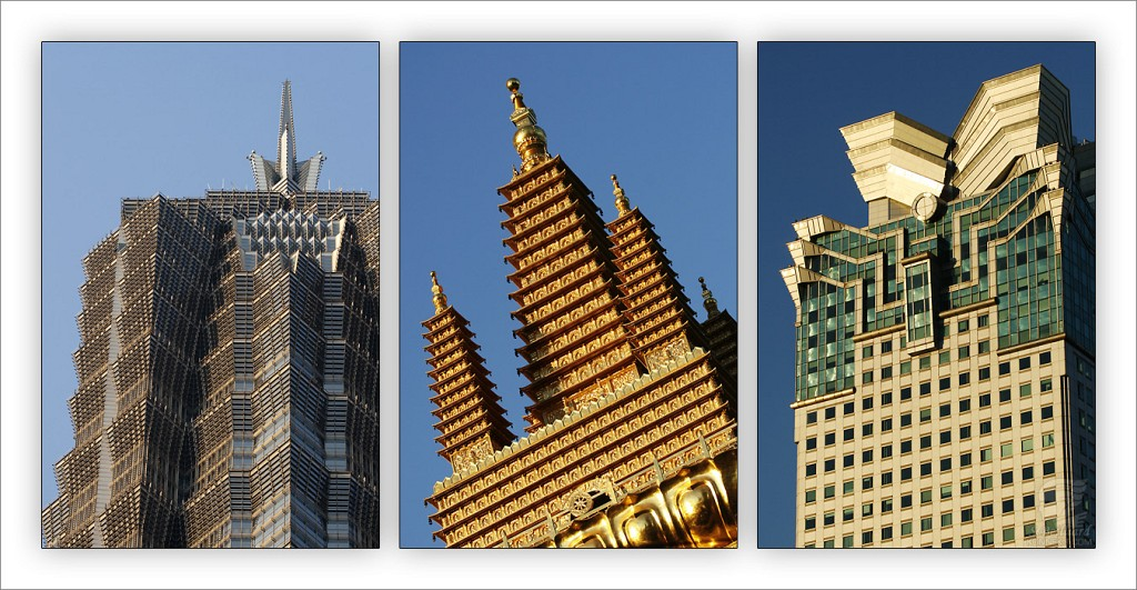 Golden Towers Triptyque