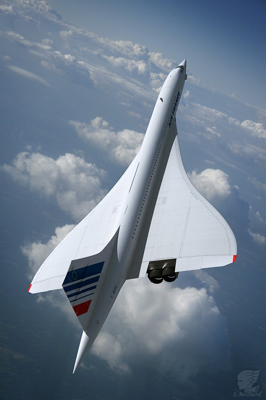 Concorde on Clouds