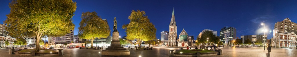 Christchurch : Cathedral Square 360