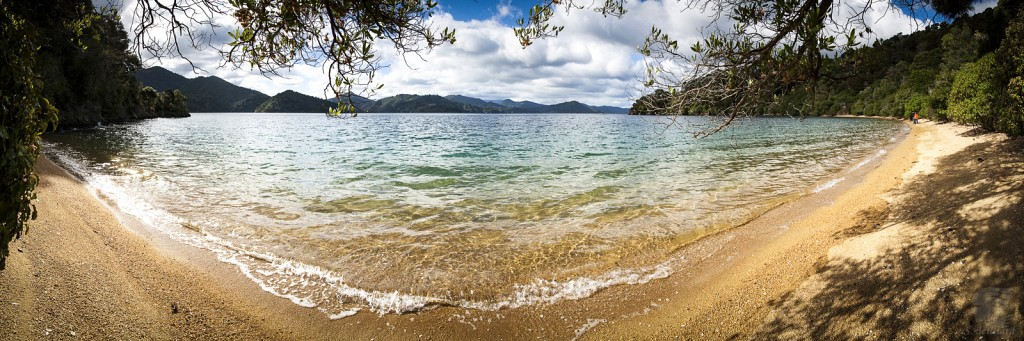 Queen Charlotte Sound Pano