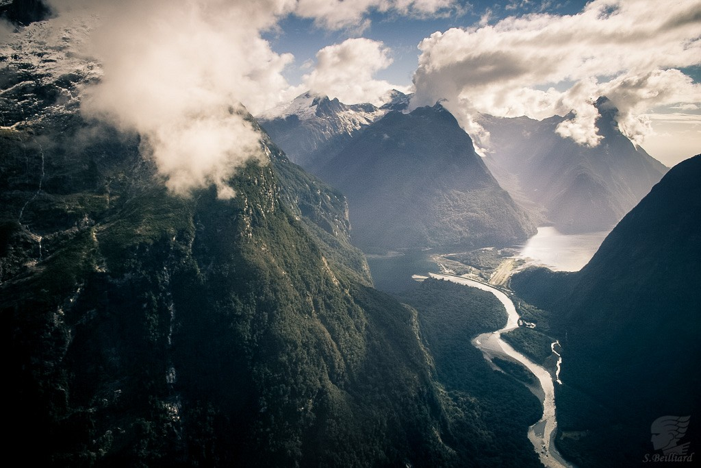 From Above : Milford Sound