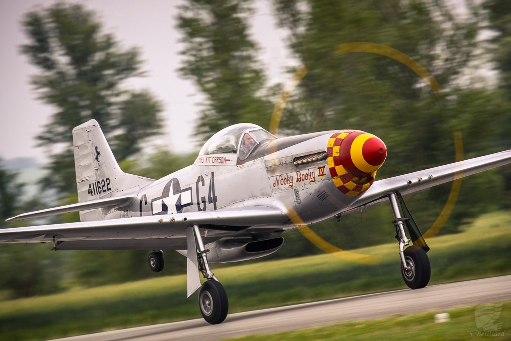 Mustang Takes off