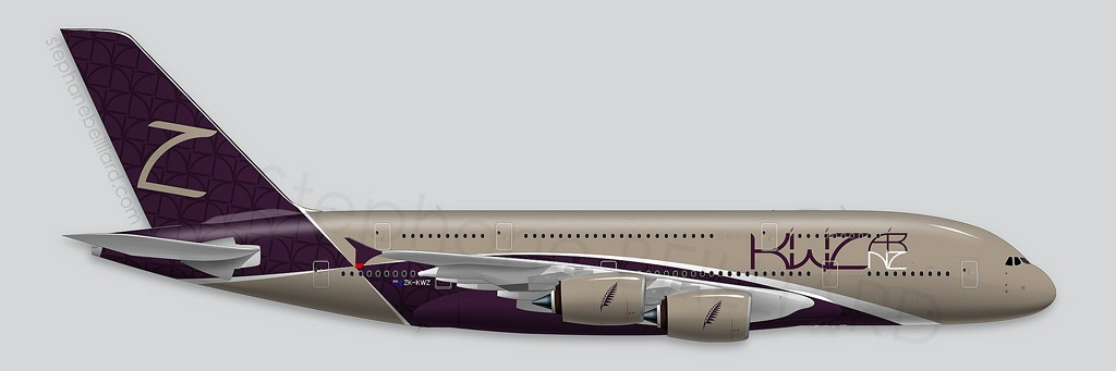 A380 KiwiZ Air Profile