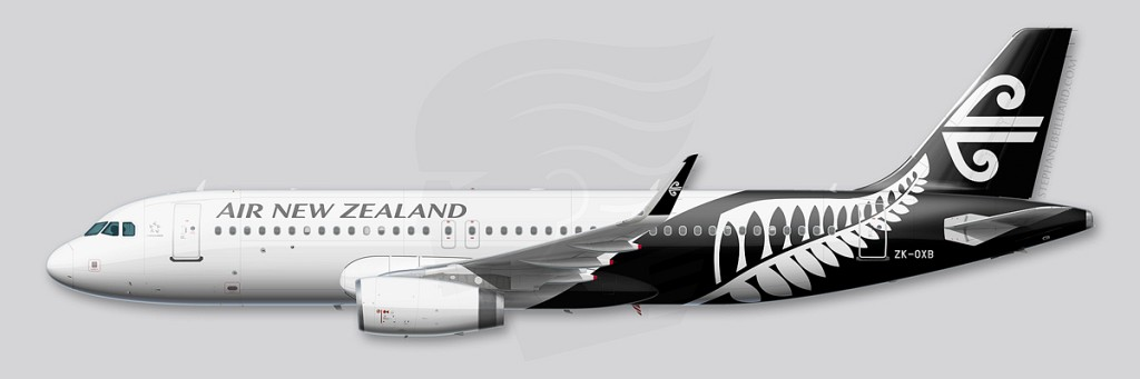 Airbus A320 Profile - Air New Zealand