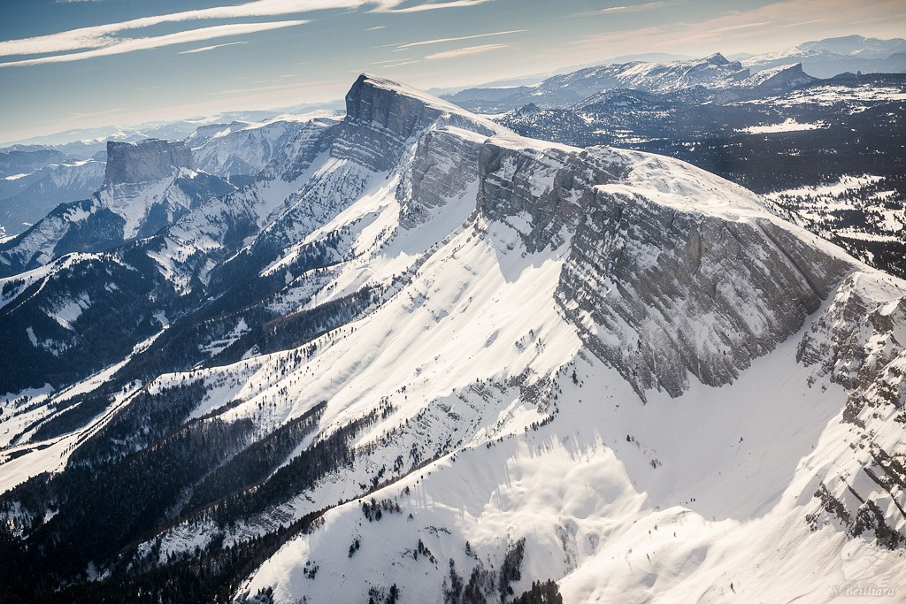 Grand Veymont and Mont Aiguille