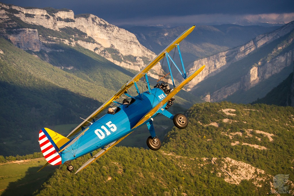 Stearman Air-to-Air 3