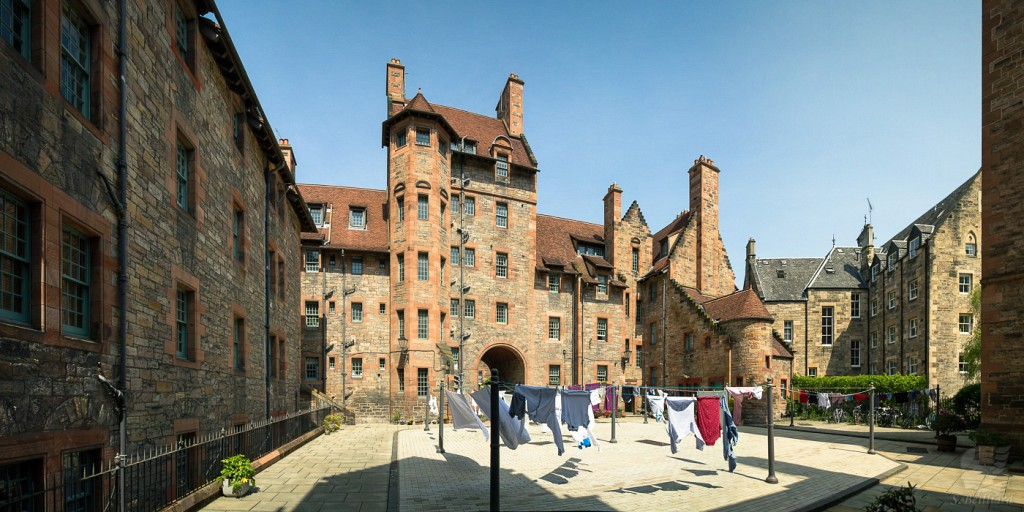 Dean Village Buildings