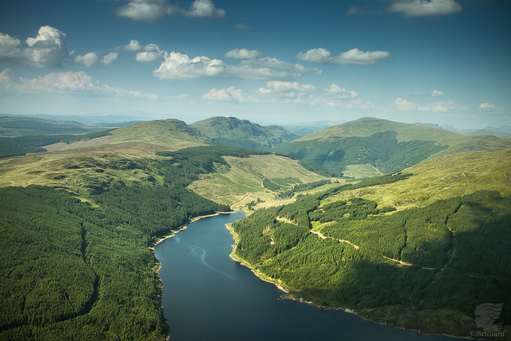 Highlands from Above - Loch