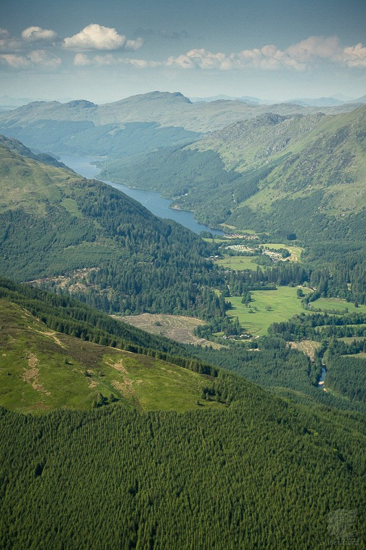 Highlands from Above - Valley
