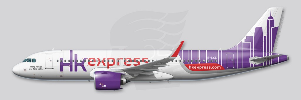 Airbus A320neo profile - HKExpress