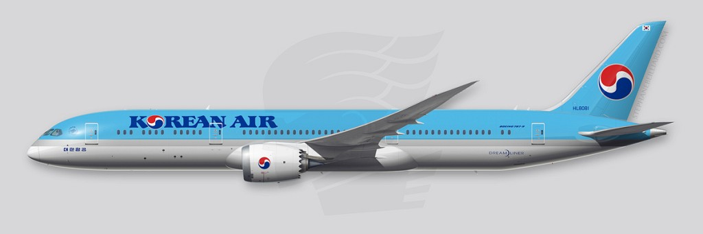 Boeing 787 Illustrations