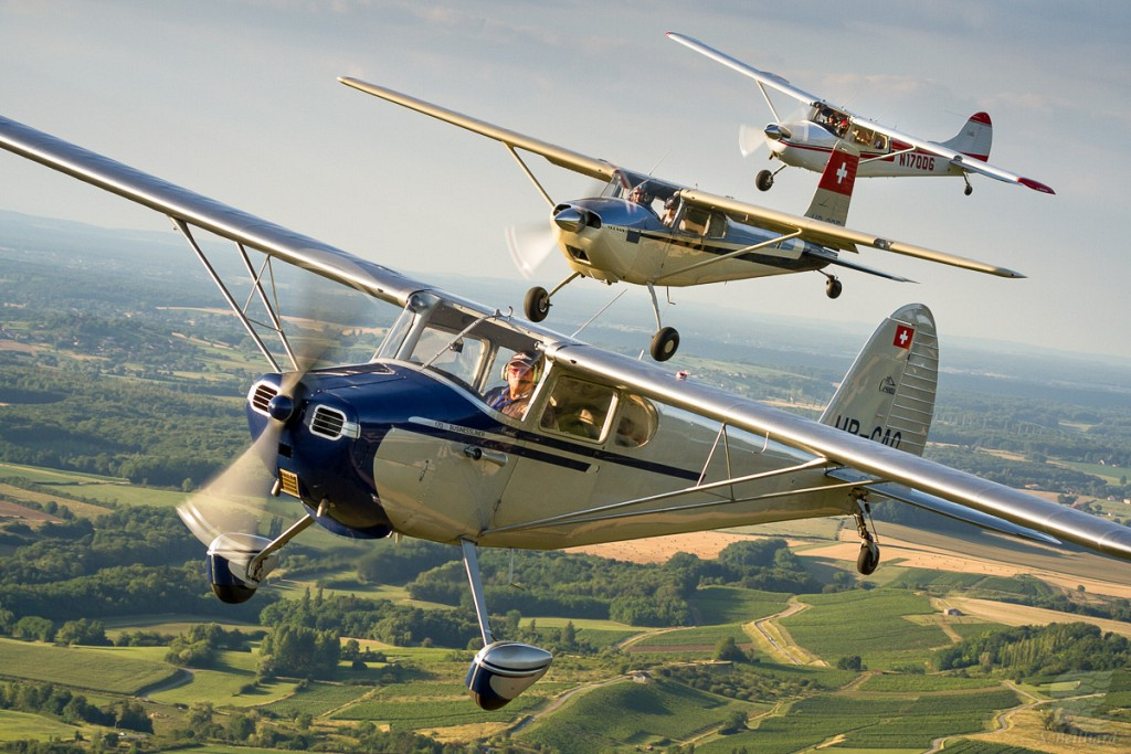 Three Cessna I