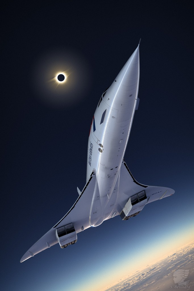 Concorde Redux 12 - Eclipse flight