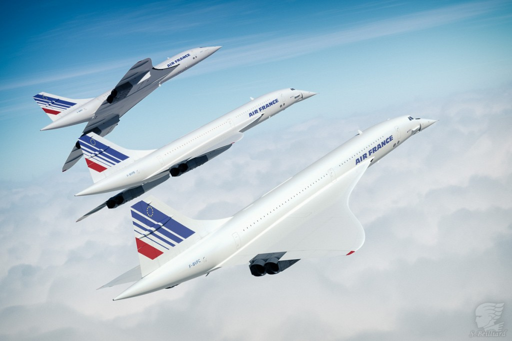 Concorde Redux 17 - Over the clouds Trio