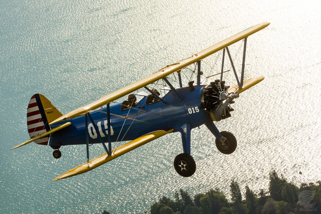 Stearman at Annecy
