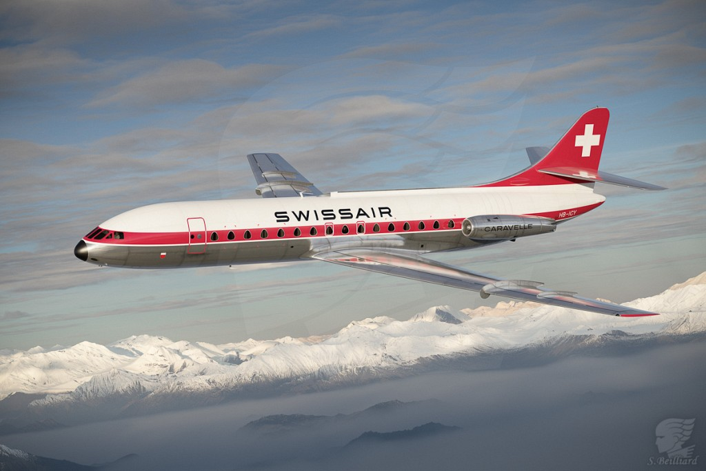 Caravelle in Swiss Colors