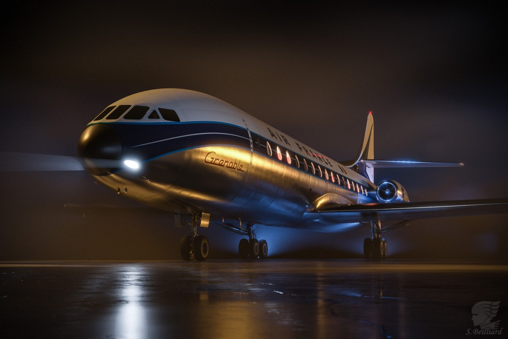 Caravelle at Night